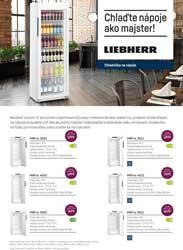 Akcia Liebherr bottle cooler activity